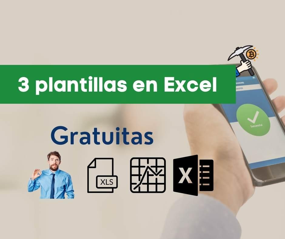 3 Plantillas en Excel para el contador de hoy