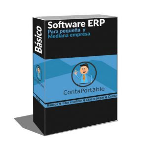 ERP para pequeña y mediana empresa Contabilidad , IVA , Cuentas por cobrar, cuentas por pagar, Bancos