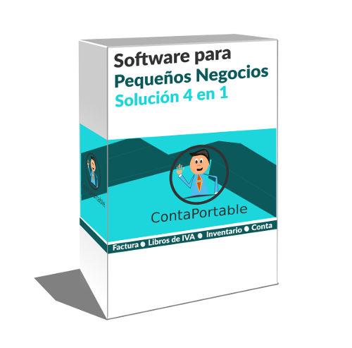 Contaportable PRO, Software para inventario, facturacion contabilidad e iva