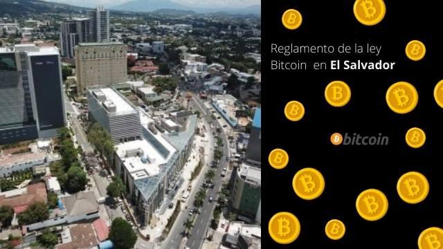 Reglamento de la Ley Bitcoin en El Salvador